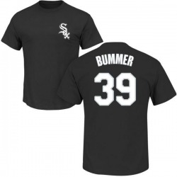 Men's Aaron Bummer Chicago White Sox Roster Name & Number T-Shirt - Black