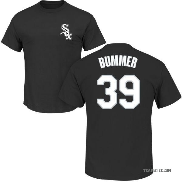 check out f4e46 0e67e Men's Aaron Bummer Chicago White Sox Roster Name & Number T-Shirt - Black -  Teams Tee