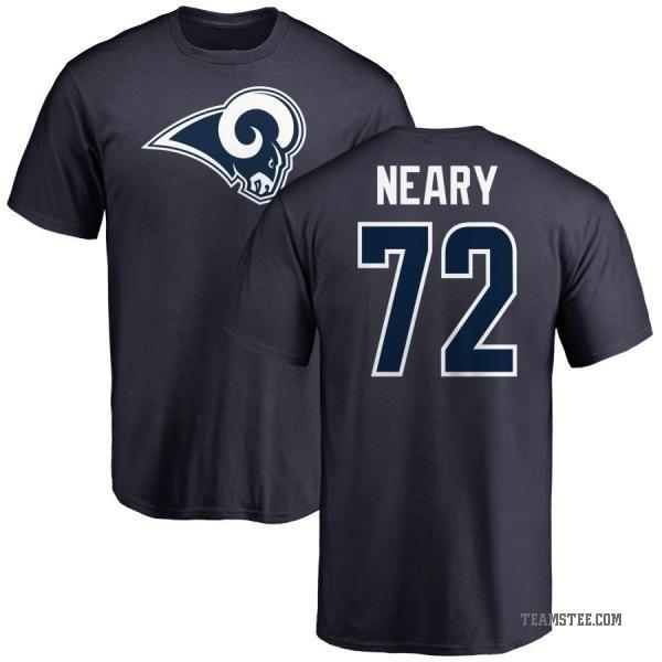 big sale fef69 fddfb Men's Aaron Neary Los Angeles Rams Name & Number Logo T-Shirt - Navy -  Teams Tee