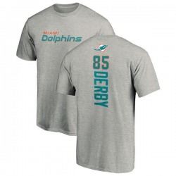 Men's A.J. Derby Miami Dolphins Backer T-Shirt - Ash