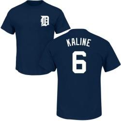 Men's Al Kaline Detroit Tigers Roster Name & Number T-Shirt - Navy