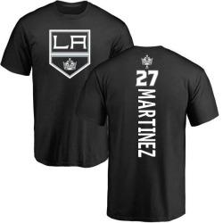 Men's Alec Martinez Los Angeles Kings Backer T-Shirt - Black