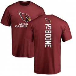 Men's Alex Boone Arizona Cardinals Backer T-Shirt - Maroon