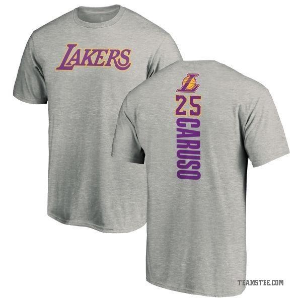 fbca72e39bb Men s Alex Caruso Los Angeles Lakers Ash Backer T-Shirt - Teams Tee