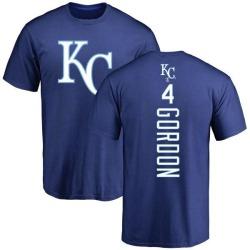 Men's Alex Gordon Kansas City Royals Backer T-Shirt - Royal