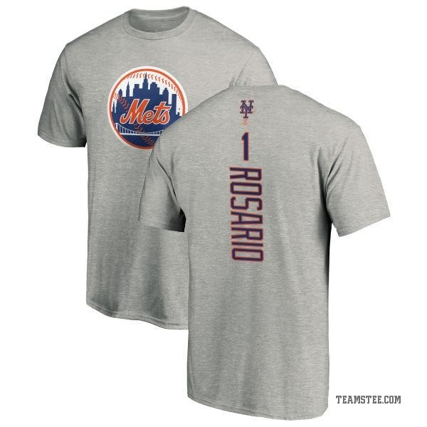 brand new f5119 e51af Men's Amed Rosario New York Mets Backer T-Shirt - Ash - Teams Tee