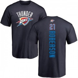 Men's Andre Roberson Oklahoma City Thunder Navy Backer T-Shirt
