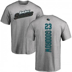 Men's Barclay Goodrow San Jose Sharks Backer T-Shirt - Ash