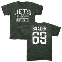 detailed look 21a8c 5753b Men's Ben Braden New York Jets Name & Number Logo T-Shirt ...