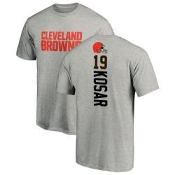 Men's Bernie Kosar Cleveland Browns Backer T-Shirt - Ash