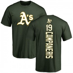 Men's Bert Campaneris Oakland Athletics Backer T-Shirt - Green