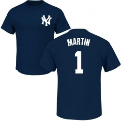 Men's Billy Martin New York Yankees Roster Name & Number T-Shirt - Navy