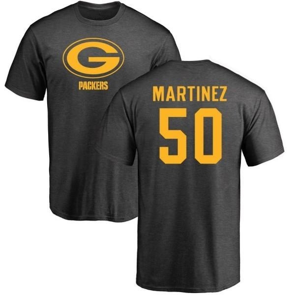 check out d11f2 92b68 Men's Blake Martinez Green Bay Packers One Color T-Shirt - Ash - Teams Tee