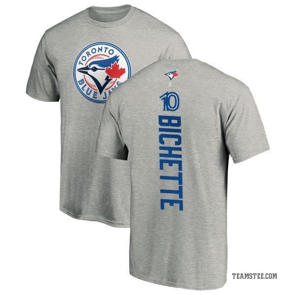 buy popular 5ee7f 527d8 Men's Bo Bichette Toronto Blue Jays Backer T-Shirt - Ash - Teams Tee