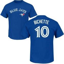 Men's Bo Bichette Toronto Blue Jays Roster Name & Number T-Shirt - Royal