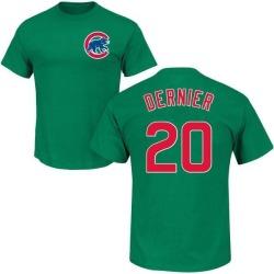 Men's Bob Dernier Chicago Cubs St. Patrick's Day Roster Name & Number T-Shirt - Green