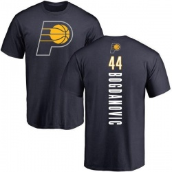 Men's Bojan Bogdanovic Indiana Pacers Navy Backer T-Shirt