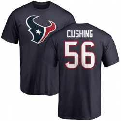 Men's Brian Cushing Houston Texans Name & Number Logo T-Shirt - Navy