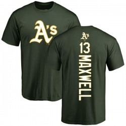 Men's Bruce Maxwell Oakland Athletics Backer T-Shirt - Green
