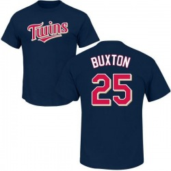 Men's Byron Buxton Minnesota Twins Roster Name & Number T-Shirt - Navy