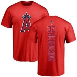 Men's Cam Bedrosian Los Angeles Angels Backer T-Shirt - Red