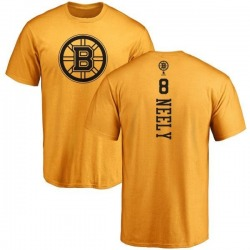 Men's Cam Neely Boston Bruins One Color Backer T-Shirt - Gold