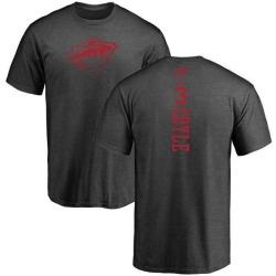 Men's Charlie Coyle Minnesota Wild One Color Backer T-Shirt - Charcoal