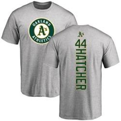 Men's Chris Hatcher Oakland Athletics Backer T-Shirt - Ash