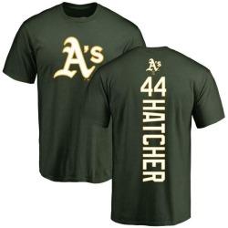 Men's Chris Hatcher Oakland Athletics Backer T-Shirt - Green