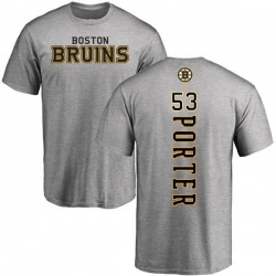 Men's Chris Porter Boston Bruins Backer T-Shirt - Ash