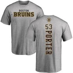 Men's Chris Porter Boston Bruins Backer T-Shirt - Ash