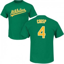 Men's Coco Crisp Oakland Athletics Roster Name & Number T-Shirt - Green