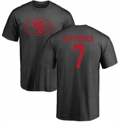 Men's Colin Kaepernick San Francisco 49ers One Color T-Shirt - Ash