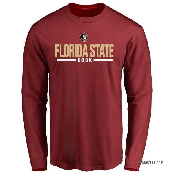 best website 268ab 5be9a Men's Dalvin Cook Florida State Seminoles Sport Wordmark Long Sleeve  T-Shirt - Garnet - Teams Tee