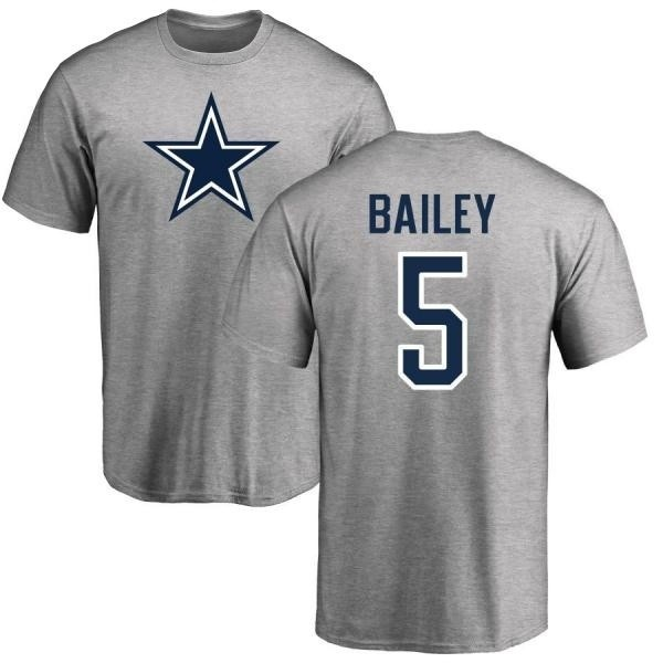 low priced c3021 b4fa7 Men's Dan Bailey Dallas Cowboys Name & Number Logo T-shirt - Gray - Teams  Tee