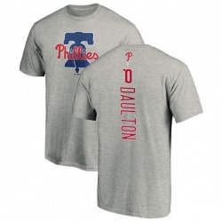 Men's Darren Daulton Philadelphia Phillies Backer T-Shirt - Ash