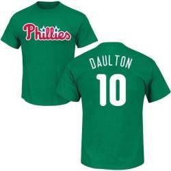 Men's Darren Daulton Philadelphia Phillies St. Patrick's Day Roster Name & Number T-Shirt - Green