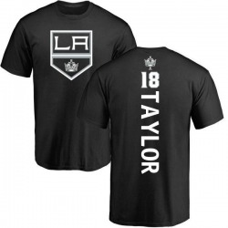 Men's Dave Taylor Los Angeles Kings Backer T-Shirt - Black