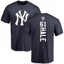 Men's David Hale New York Yankees Backer T-Shirt - Navy