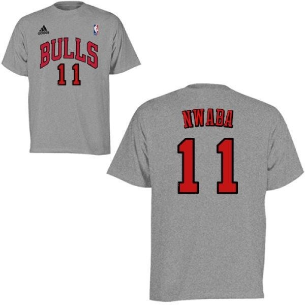 the latest b1472 cd51c Men's David Nwaba Chicago Bulls Gametime T-Shirt - Teams Tee