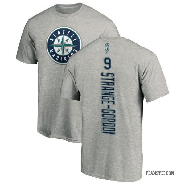 low priced a8259 86b35 Men's Dee Gordon Seattle Mariners Backer T-Shirt - Ash - Teams Tee
