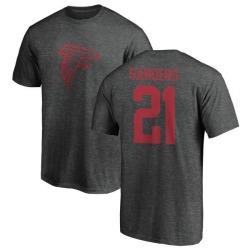 Men's Deion Sanders Atlanta Falcons One Color T-Shirt - Ash