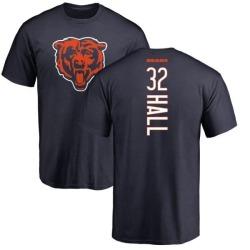 Men's Deiondre Hall Chicago Bears Backer T-Shirt - Navy