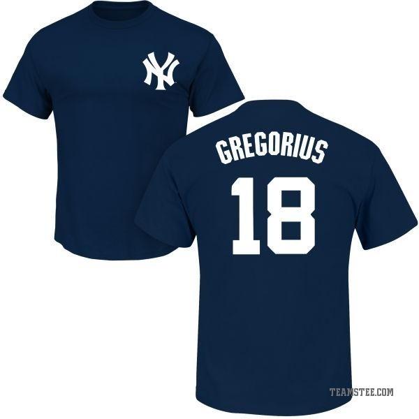 super popular 81606 6afc7 Men's Didi Gregorius New York Yankees Roster Name & Number T-Shirt - Navy -  Teams Tee