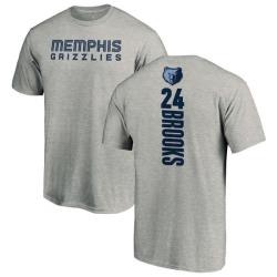 Men's Dillon Brooks Memphis Grizzlies Ash Backer T-Shirt