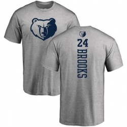 Men's Dillon Brooks Memphis Grizzlies Heathered Gray One Color Backer T-Shirt