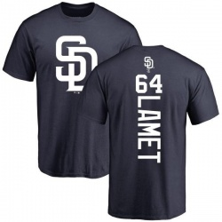 Men's Dinelson Lamet San Diego Padres Backer T-Shirt - Navy