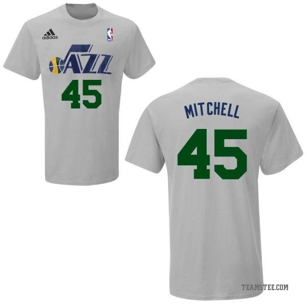 super popular 65364 cd47f Men's Donovan Mitchell Utah Jazz Gametime T-Shirt - Teams Tee