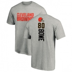 Men's Dwayne Bowe Cleveland Browns Backer T-Shirt - Ash