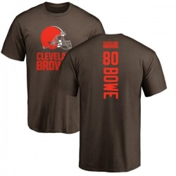 Men's Dwayne Bowe Cleveland Browns Backer T-Shirt - Brown